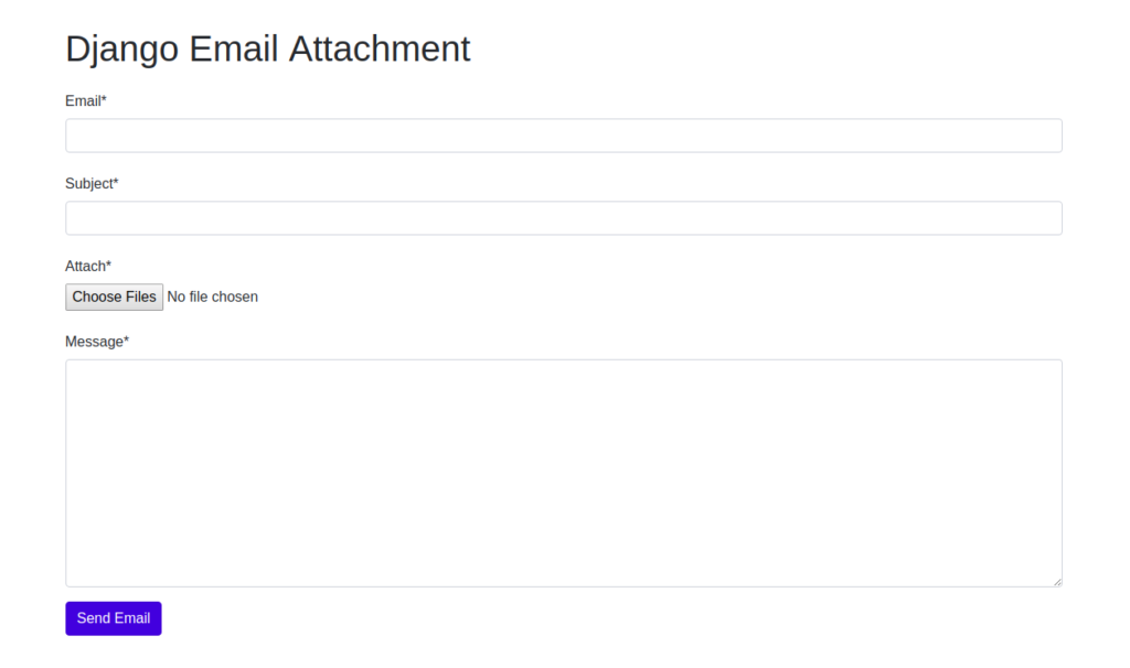 How to Send Email With Multiple Attachments in Django
