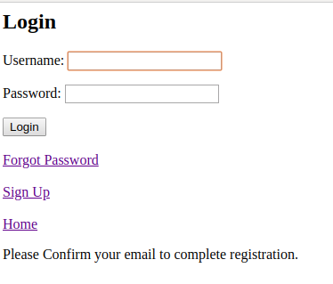 How to Signup User and Send Confirmation Email in Django - login