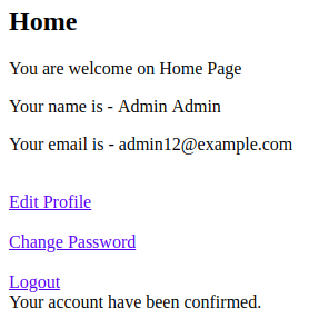 How to Signup User and Send Confirmation Email in Django - after login