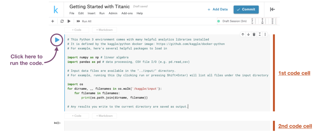 Kaggle Titanic Project Getting Started Notebook