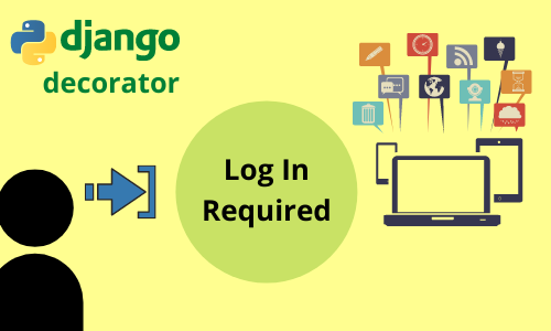 How to restrict access with django login required decorator function ?