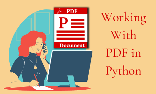 Working with pdf in Python